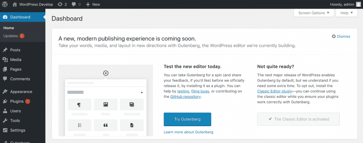 Wordpress 5 Gutenberg callout